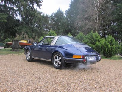 1970 Porsche 911 2.2S Châssis N° 9110310645 6 cylindres opposés à plat N° moteur:...