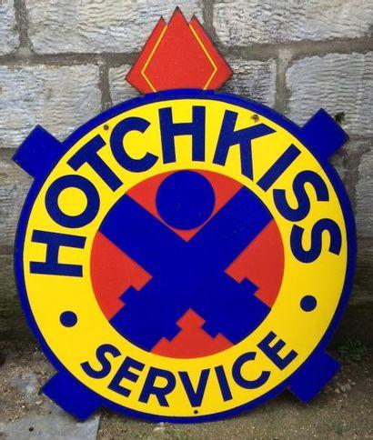 Plaque émaillée HOTCHKISS Service