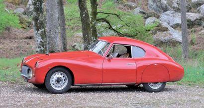 1947 FIAT 1100S MILLE MIGLIA BERLINETTA PAR RAPPI CHÂSSIS N° 500065 MOTEUR N° 500331...