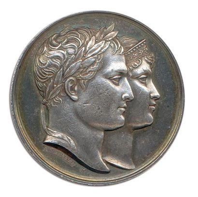 Napoléon Ier mariage avec marie Louise à...