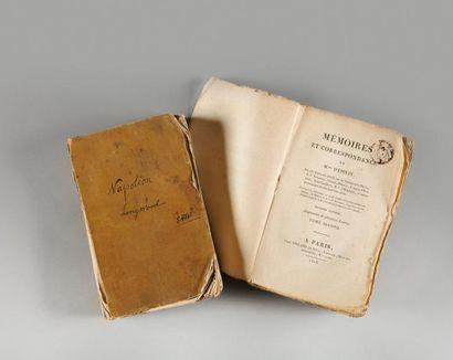 Precieux exemplaires provenant de la bibliotheque de l'empereur napoleon i er a...