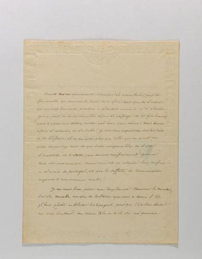 [JUNOT]. - ABRANTÈS (Laure Permont, madame Junot, duchesse d')