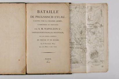 BATAILLE DE PREUSSISCH-EYLAU, gagnée par...