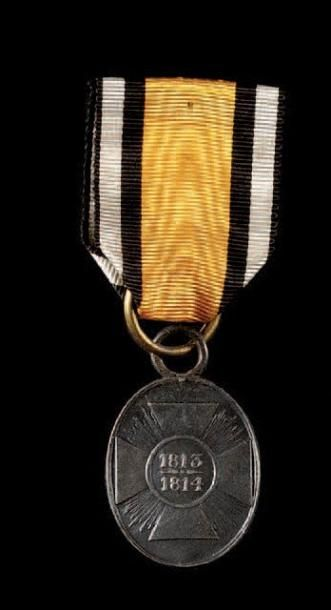 Royaume de Prusse Médaille de fer pour non...