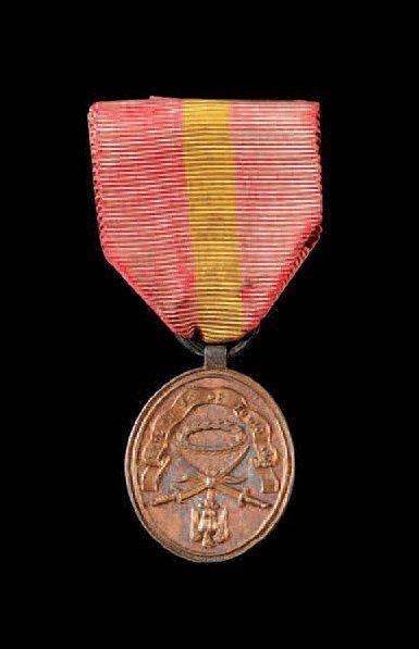 Médaille de Bailen, créée en 1808. Modèle...