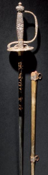 Exceptionnelle, unique et précieuse épée,...