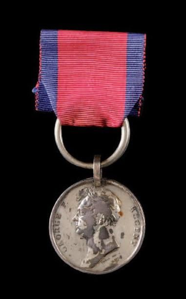 Médaille de Waterloo, fondée en 1818. Médaille...