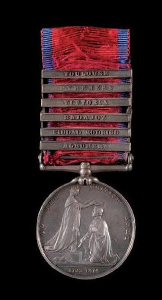 Military général service medal (1793-1814),...