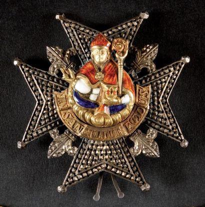 Ordre de Saint-Janvier, institué en 1738....