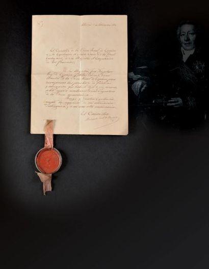 Ordre royal d'Espagne, institué en 1808....