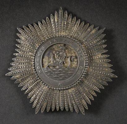 Ordre Royal de l'Union, institué en 1807....