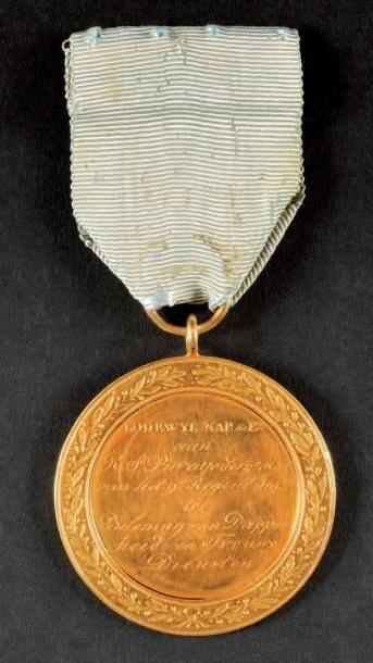 Médaille d'Honneur et de Bravoure. Rare médaille...