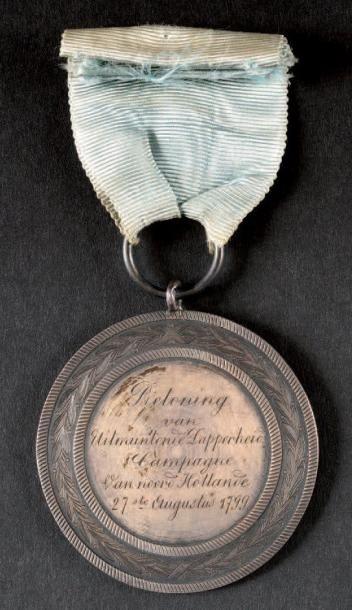 Médaille d'honneur et de bravoure, instituée...