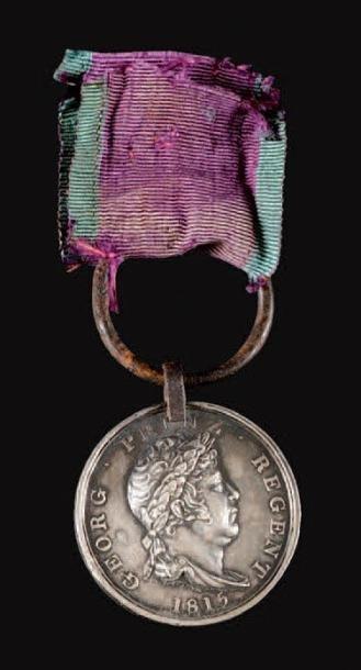 Hanovre (États allemands) Médaille de Waterloo,...