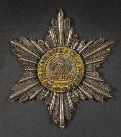 Ordre de la Couronne de Fer, institué en...