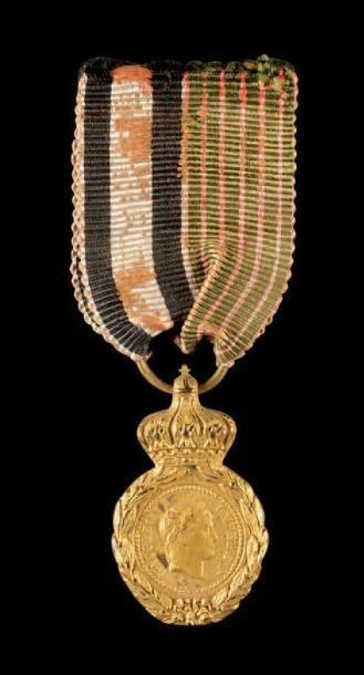 Médaille de Sainte-Hélène, instituée en 1857....