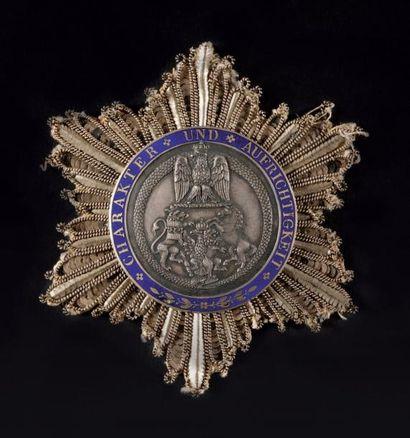 Ordre de la Couronne de Westphalie, créé...