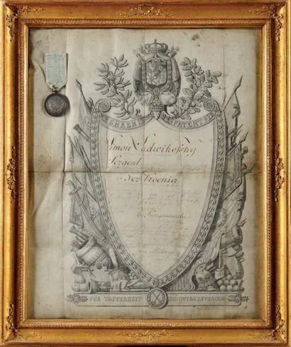 Médaille d'honneur du Royaume de Westphalie...