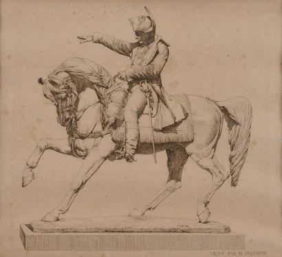 «Statue équestre de l'empereur Napoléon Ier»....