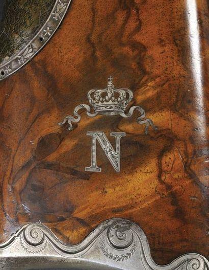 Superbe et fin fusil des chasses royales de «Louis XVI» puis des chasses impériales...