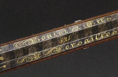 Superbe carabine à silex de «Boutet & Fils à Versailles», attribuée à Joseph Comte...