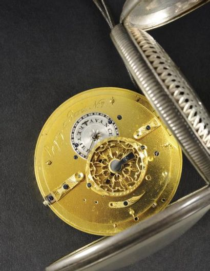 la montre-réveil de l'empereur Napoléon Ier, portee durant la retraite de Russie...