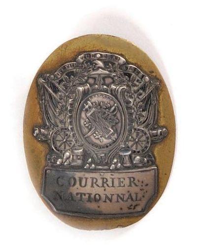 «Courrier national. République française»....