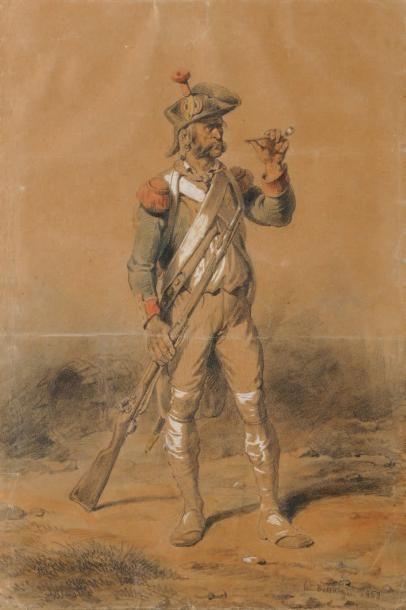 Hyppolite Bellangé (1800-1866)