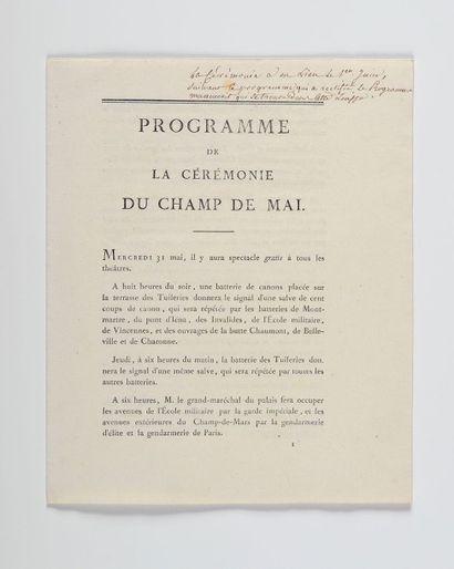CHAMP DE MAI