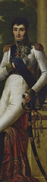 MARIAGE DE JÉRÔME BONAPARTE ET CATHERINE DE WURTEMBERG. - 3 pièces dont 2 reliées...
