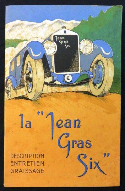 Catalogue «La JEAN GRAS SIX» description,...