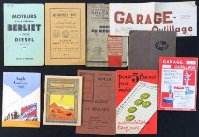 Catalogues «Moteurs 4 et 6 cylindres BERLIET»,...