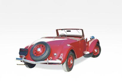 1939 CITROEN TRACTION 15/6 Cabriolet une des trois authentiques Châssis n° 184.60.75...