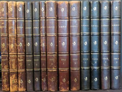 OMNIA 1907 (2 volumes), 1908 (1 volume),...