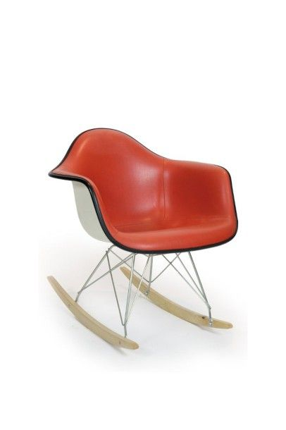 CHARLES & RAY EAMES (1907-1978 & 1912-1988) DESIGNERS «RAR, Rocking Armchair Rod»....