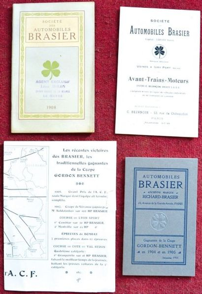Brasier Catalogue 18 pages