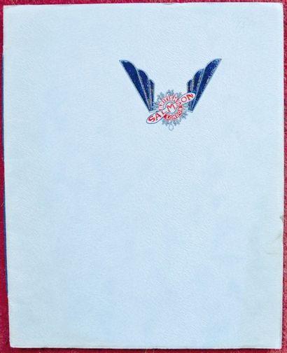 British Salmson Catalogue 24 pages