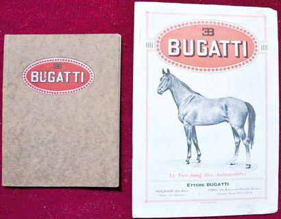 Bugatti 1924/27 Catalogue 4 pages