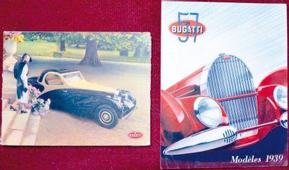 Bugatti 57 Depliant couleur 2 volets