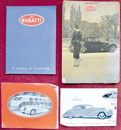 Bugatti 57 Depliant 4 volets