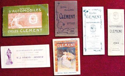 Clement Depliant 5 volets