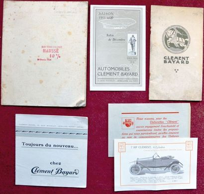 Clement Bayard Catalogue 28 pages