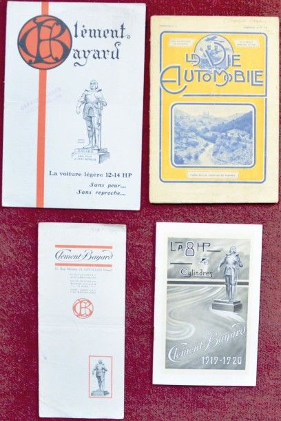 Clement Bayard Catalogue 8 pages