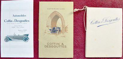 Cottin Desgouttes Catalogue 20 pages