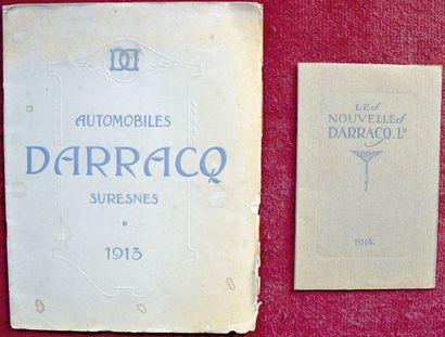 Darracq Catalogue 24 pages