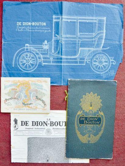 Catalogues De Dion Bouton