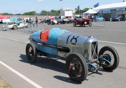1930 SALMSON San Sebastian Grand Prix Chassis n° 616 Ex Decaroli Compresseur Cozette...