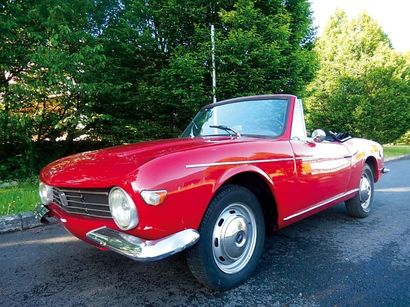 1965 FIAT 1200 OSI Spider Chassis n° 35825 Titre de circulation europeen La OSI 1200...
