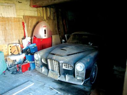1957 FACEL VEGA FV2B Chassis n° FV2B56111 Dédouanée A immatriculer en collection...