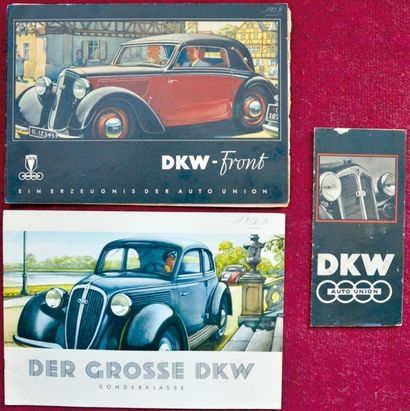 DKW 1939 Catalogue 16 pages